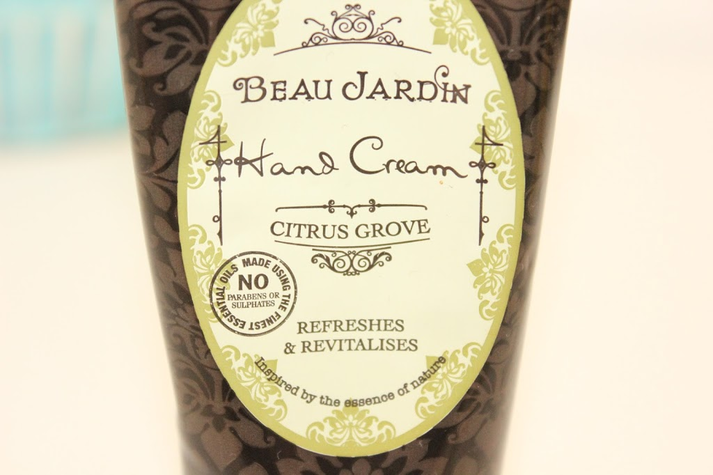 Beau jardin citrus grove hand cream ever in may for Beau jardin hand cream collection