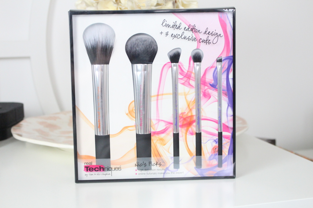 nic's picks real techniques brushes review and swatches
