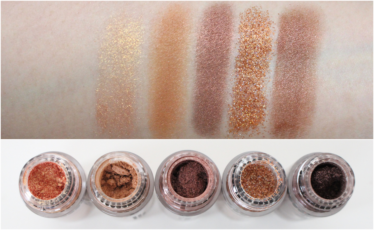 mac objects of affection bronze swatches