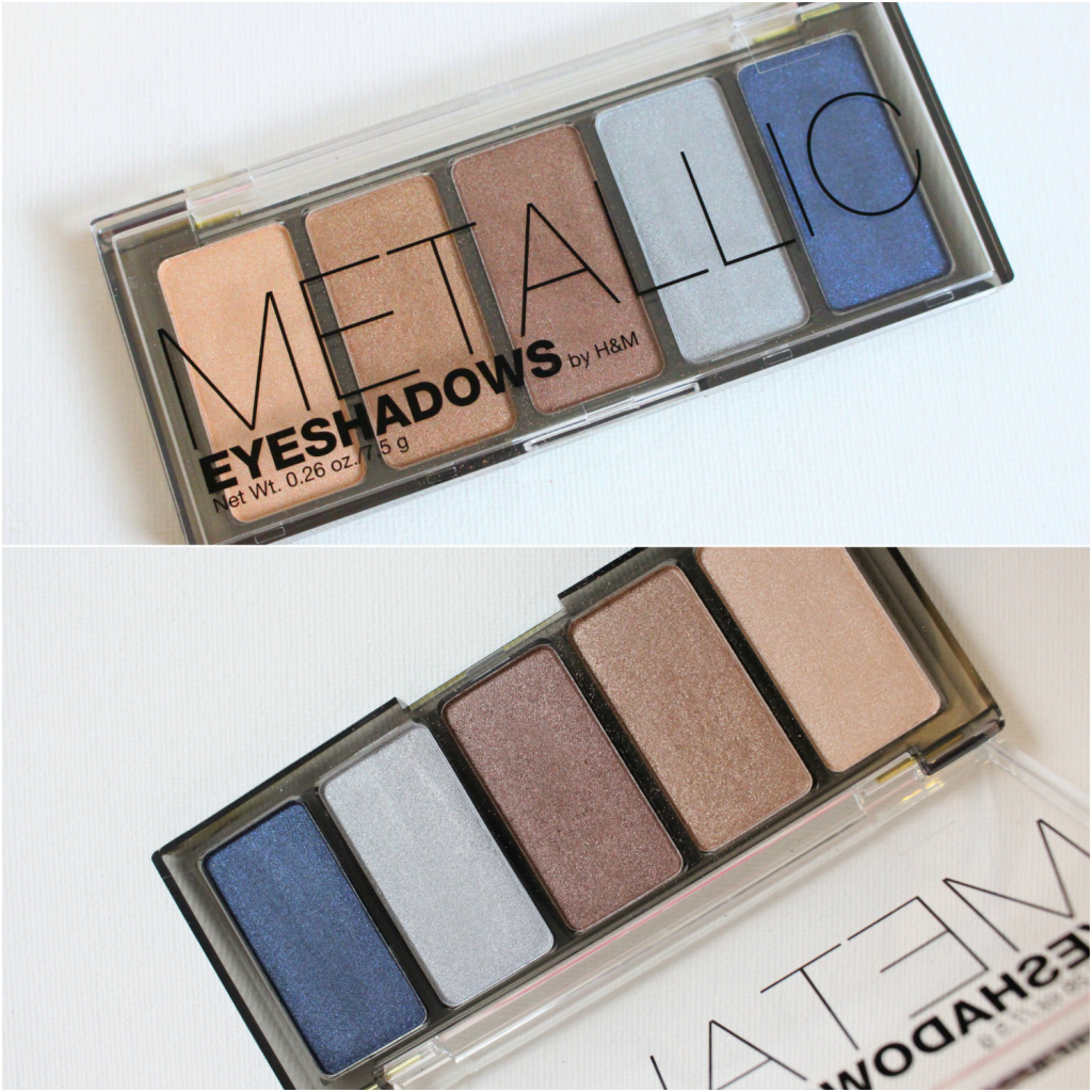 H&M Metallic Eyeshadow Palette